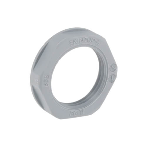 LAPP Contratuercas, SKINTOP GMP-GL PG, PG 11, poliamida, gris plateado - 53019020
