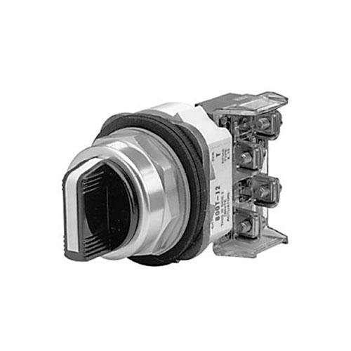 ROCKWELL AUTOMATION 800T, 30mm,  3 POSICIONES, Selector Switch, 1 N.O.  1 N.C.  - 800TJ2A