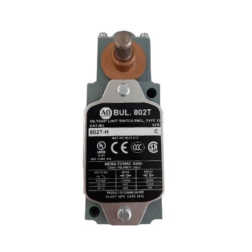 ROCKWELL AUTOMATION 802T, Limit Switch Alto Torque de Operación, Giratorio, 2 circuitos (no incluye leva) - 802TH