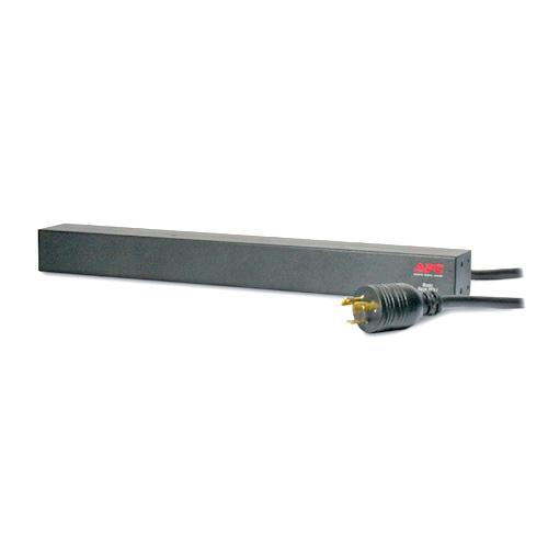 APC Unidad PDU para Rack Básica de 1U, 16A, 208V, (12) C13 - AP9566