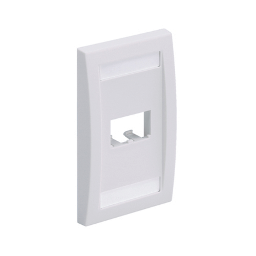 PANDUIT Placa frontal vertical de una salida - CFPE2IWY