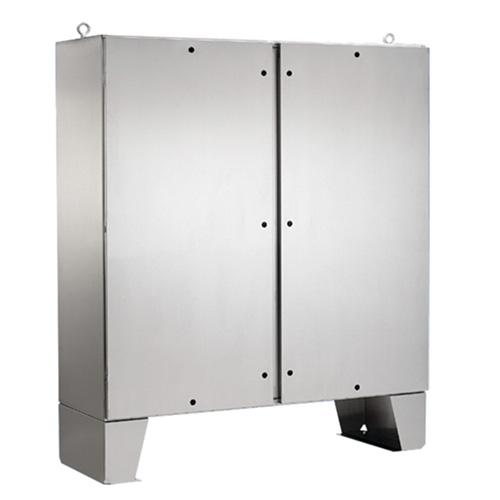 """Gabinete de Propósito General, Dos Puertas, con soporte de piso, 60.06"""" x 48.06"""", HOFFMAN - A60H4812SSLPQT"""