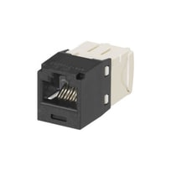 PANDUIT Mini-Com™ Conector RJ45, Categoría 6, UTP, Negro - CJ688TGBL