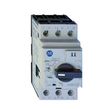 ROCKWELL AUTOMATION 140M, Guardamotor Térmico, Rango de Ajuste 6.3..10 Amps, Disparo Clase 10, Disparo Magnético 13 x Ie - 140MC2EC10