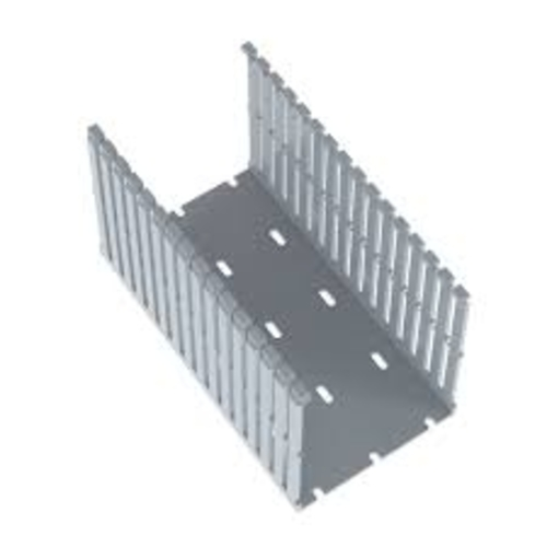 PANDUIT Conducto ranurado estrecho, PVC, 4 X 3 X 6 ' - F4X3LG6
