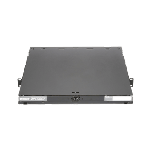 "PANDUIT Caja para albergar hasta cuatro casetes QuickNet™, paneles adaptadores FAP, o para  módulos de empalme FOSM. Dimensiones: 1.73"" H x 17.60"" W x 16.30""D (43.9 mm x 447.0mm x 414.0mm). - FCE1U"