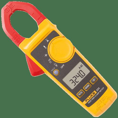 Pinza amperimétrica de verdadero valor eficaz  - FLUKE324