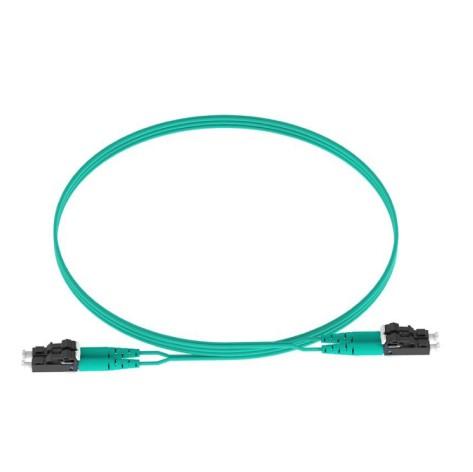 PANDUIT Cable de conexión de fibra óptica, OM4, Riser, 15M - FZ2ERLNLNSNM015