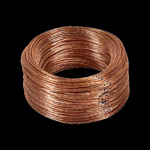 GENERAL CABLE Cable de cobre desnudo, Semiduro, 19H, Cal 1/0 MCA - GCDES1/0