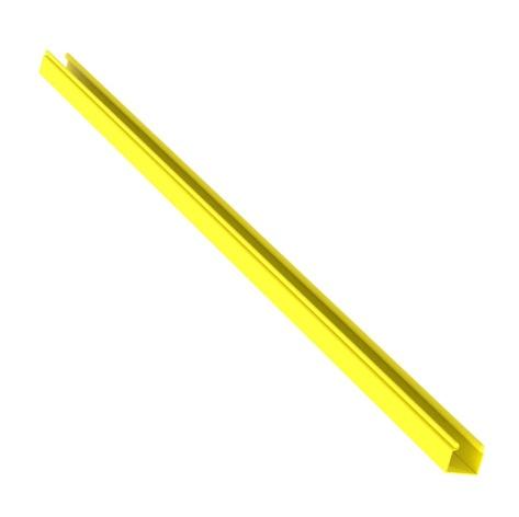 PANDUIT Canal con bisagras, FiberRunner, PVC, Amarillo - HS2X2YL6NM