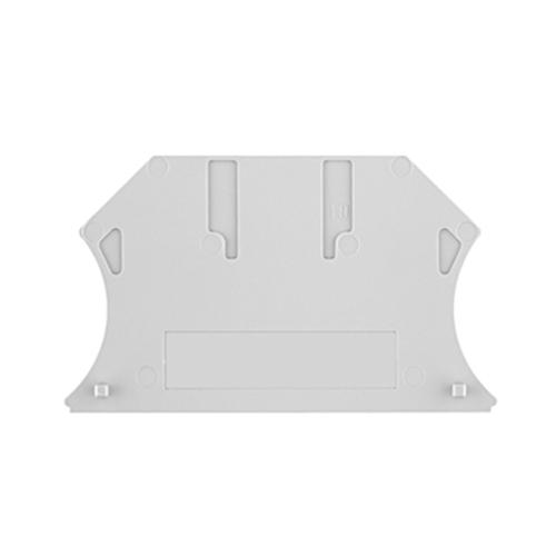 ROCKWELL AUTOMATION Bloque de terminales, barrera de extremo, gris, para 1492-J3, J4, J6, J10 - 1492EBJ3