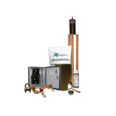 Kit de puesta a tierra Total Ground, 70 AMP, Con accesorios - KITMASTER70K