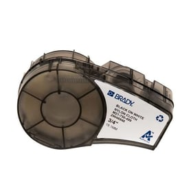 BRADY Etiquetas de tela de nailon, Para paneles de conexiones y cables / alambres, Serie BMP21 Plus  - M21-750-499