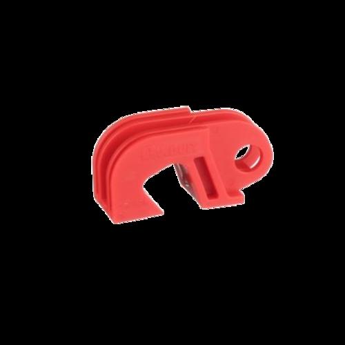 PANDUIT Dispositivo de bloqueo de disyuntor universal, Acero inoxidable, Rojo - PSLCB