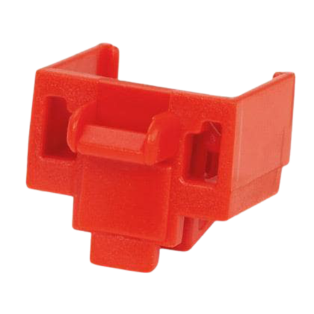 PANDUIT Dispositivo de bloqueo del módulo de conector, 10 bloqueos, Rojo - PSLDCJB