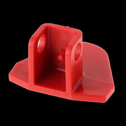 PANDUIT Dispositivo de bloqueo de enchufe, 120 V, Rojo - PSLP