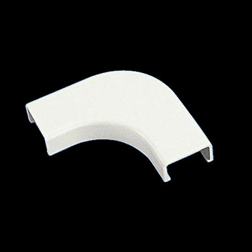 PANDUIT Accesorio en ángulo recto, Radio de curvatura, ABS, Blanco - RAFC5EIX