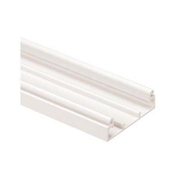 PANDUIT Base de canalización T-45, PVC, Blanco - T45BIW8A