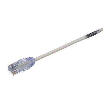 PANDUIT Cable de conexión UTP, Categoría 6, 28 AWG, Sin blindaje, Blanco - UTP28SP3