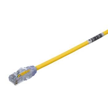 PANDUIT Cable de conexión UTP, Categoría 6, Enchufes modulares TX6, Amarillo - UTPSP10YLY
