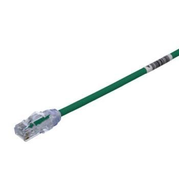 PANDUIT Cable de conexión UTP, Categoría 6, Enchufes modulares TX6 PLUS, Verde - UTPSP3GRY