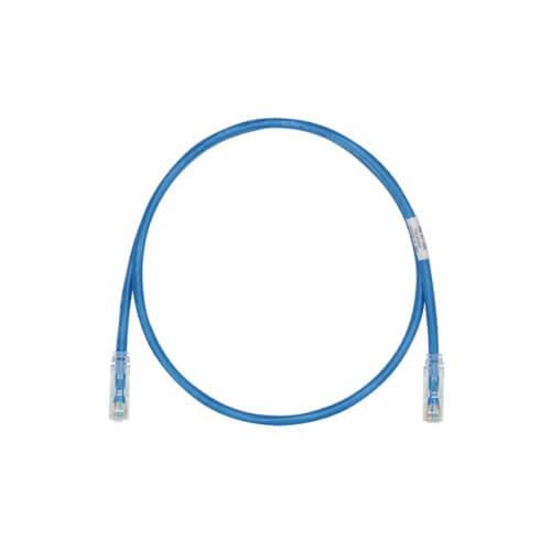 PANDUIT Cable de conexión UTP, Categoría 6, 24 AWG, Rendimiento mejorado, Azul - UTPSP7BUY
