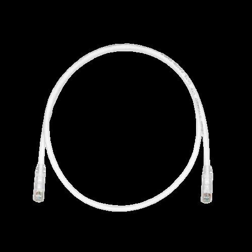 PANDUIT Cable de conexión UTP, Categoría 6, 24 AWG, Rendimiento mejorado, Blanco - UTPSP7Y