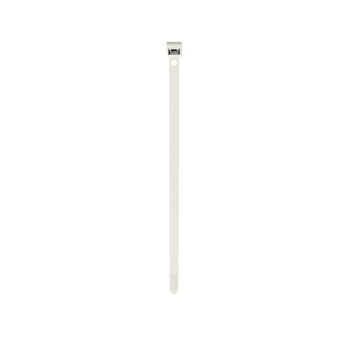 PANDUIT Brida de bloqueo, Transversal intermedia, Nailon 6.6, Color natural - PLT2.5IM