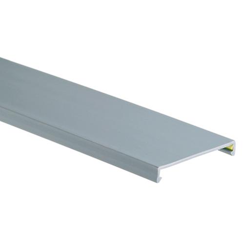 "PANDUIT Cubierta de conducto, PVC, 1.5 ""W x 6 ', negro - C1.5BL6"