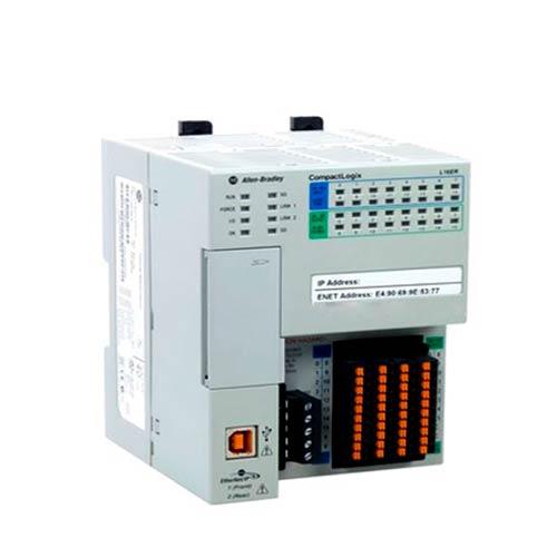 ROCKWELL AUTOMATION, Controlador CompactLogix 5370 L1 384KB, DI/O 15pts embebidos - 1769L16ERBB1B