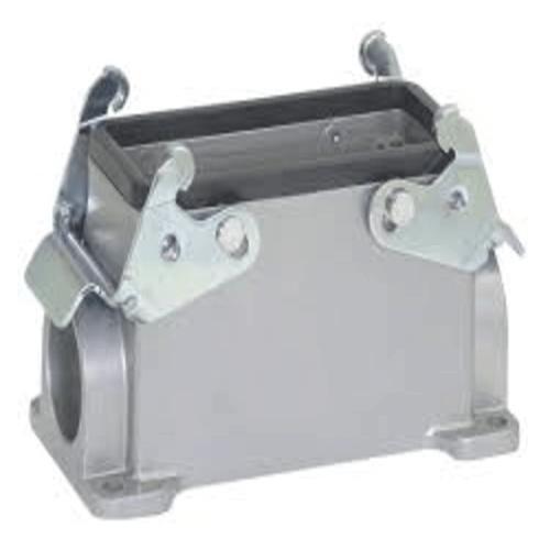 LAPP Conector Heavy Duty, Base, Montaje en Panel, Aleación de Aluminio, 2 levas, 24B - 101040