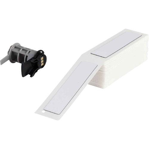 BRADY Etiquetas rectangulares de panel elevado, Serie BMP71, BMP61, M611, TLS 2200, Blanco - PTLEP-174-593