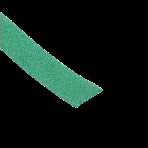 PANDUIT Atadura de gancho y felpa en tira, Nailon, Verde - HLS3SX5