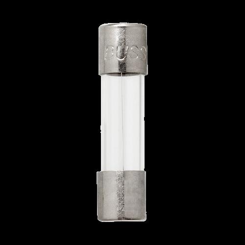 BUSSMANN Fusible miniatura, De cartucho, 15A, 125V, Tubo de vidrio  – GMA15