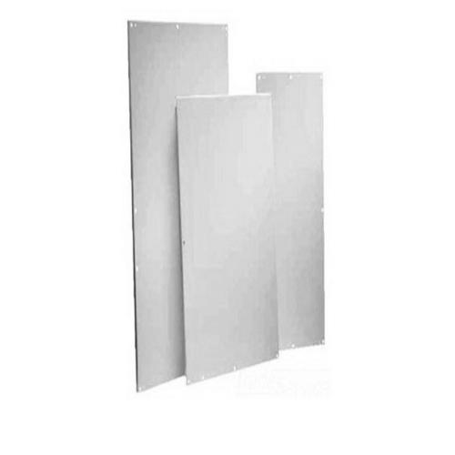 HOFFMAN Panel de caja Hoffman A24P20SS6, 17 pulg. De ancho x 21 pulg. De alto, acero inoxidable 316, blanco  - A24P20SS6