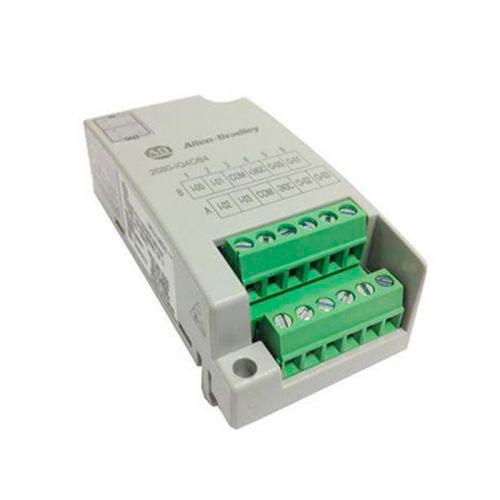 ROCKWELL AUTOMATION Micro800, modulo inserción frontal combinado 4 entradas y 4 salidas digitales  - 2080IQ4OB4