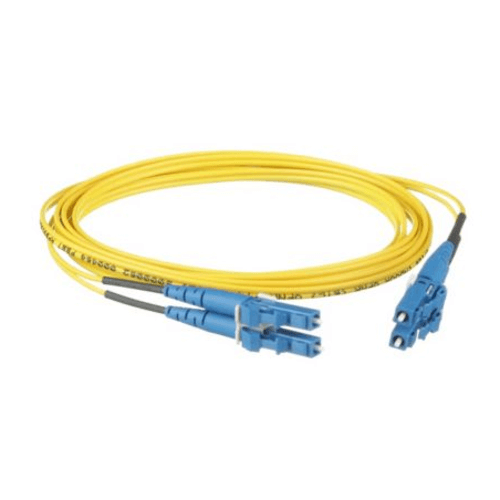 PANDUIT Cable de parcheo OS2 de 2 fibras LC duplex a LC duplex, clasificado riser (OFNR), cable con revestimiento de 1.6mm - F92ERLNLNSNM023