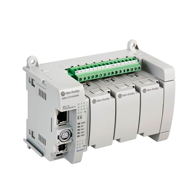 ROCKWELL AUTOMATION Controlador Micro 830, 24 puntos, Serial - 2080LC3024QWB
