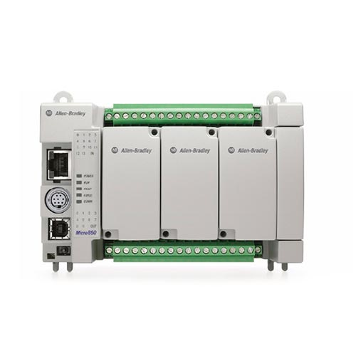 ROCKWELL AUTOMATION Controlador Micro 850, 24 puntos, EtherNet/IP - 2080LC504824QBB