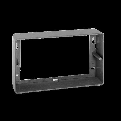 BOSCH Caja de superficie para altavoz de panel, Rectangular, ABS, Gris - LBC3012/01