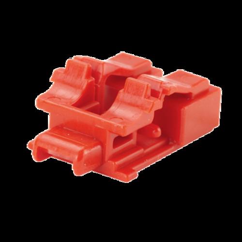 PANDUIT Kit de dispositivos de bloqueo LC, Rojo, 10PZ - PSLLCAB