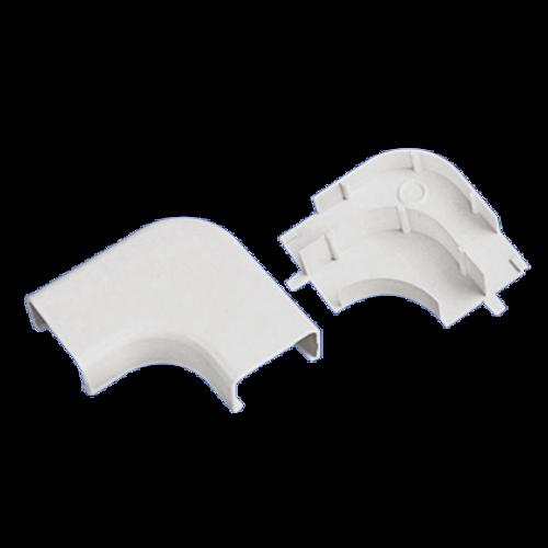 PANDUIT Accesorio en ángulo recto, Potencia nominal, LDPH5 y LDS5, ABS, Blanco - RAFX5WHX