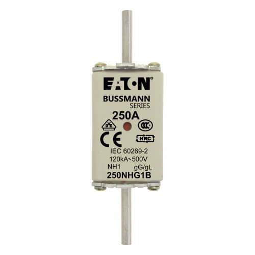ARROW HART Fusible NH01 500Vca / 250Vcd Clase Gl / Gg - 250NHG1B