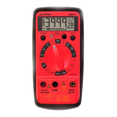 AMPROBE Multímetro Digital con Temperatura - 35XP-A
