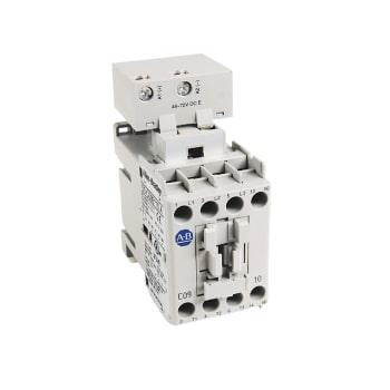 ROCKWELL AUTOMATION Contactor, IEC, 9A, 3P, Bobina electrónica de 24 VCC, 1 NA - 100C09EJ10