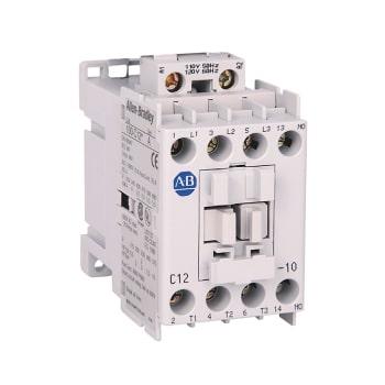 ROCKWELL AUTOMATION Contactor, IEC, 12A, 3P, 24VDC Bobina Electrónica con Diodo Integrado - 100-C12EJ10