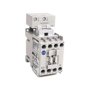 ROCKWELL AUTOMATION Contactor, IEC, 23A, 3P, 24VDC Bobina Electrónica con Diodo Integrado - 100C23EJ10