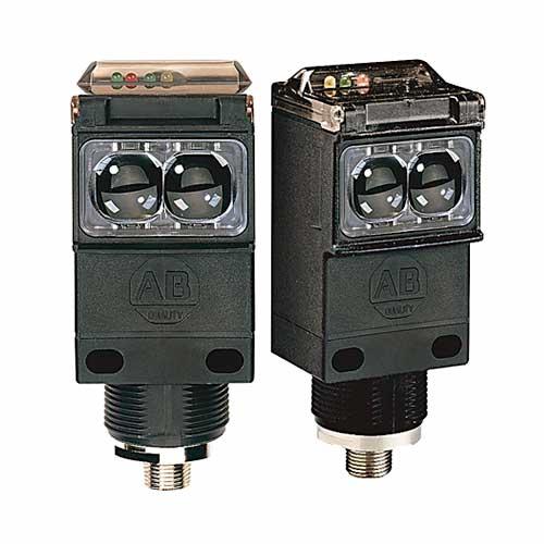 ROCKWELL AUTOMATION Series 9000, Sensor Fotoelectrico, Retrorreflectivo, 9.1 mts sensado, 70-264 Vac, SPDT, cable 2 mts - 42GRU9002